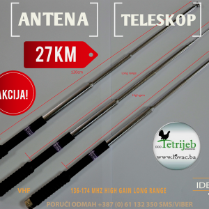 Antena teleskopska za GPS uređaje (Garmin i ostali)
