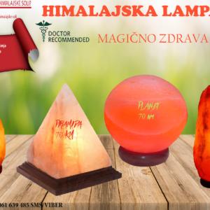 HIMALAJSKE LAMPE