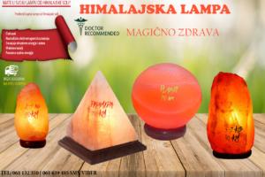Lampe od Himalajske soli